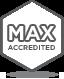 Badge Max Accredited