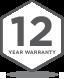 Badge Warranty - 12 Years