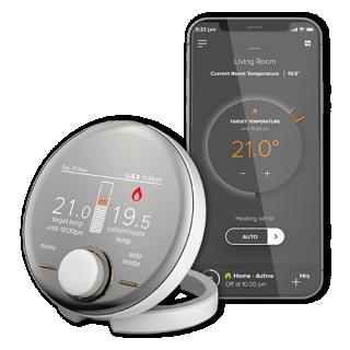 Halo Combi Wi Fi Heating App