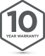 Badge 10Yr Warranty