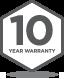 Badge 10Yr Warranty