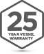 Badge 25Yr Vessel Warranty