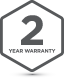 Badge 2Yr Warranty