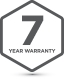 Badge 7Yr Warranty