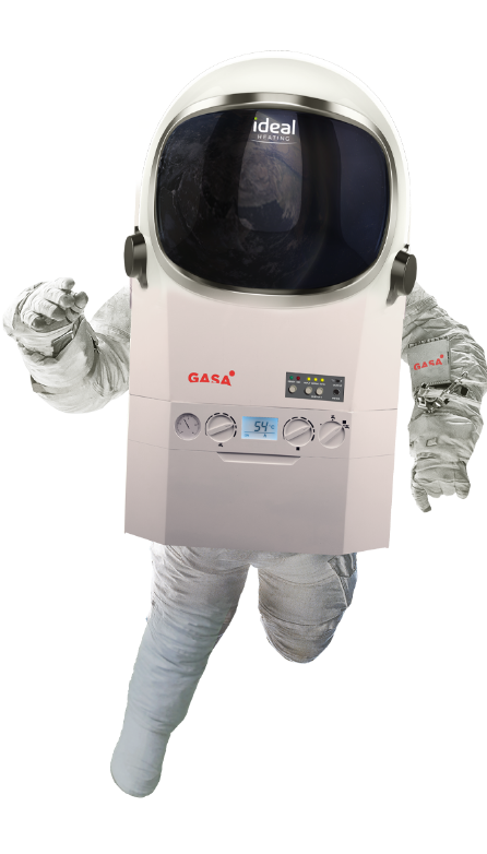 Boiler Person In Space