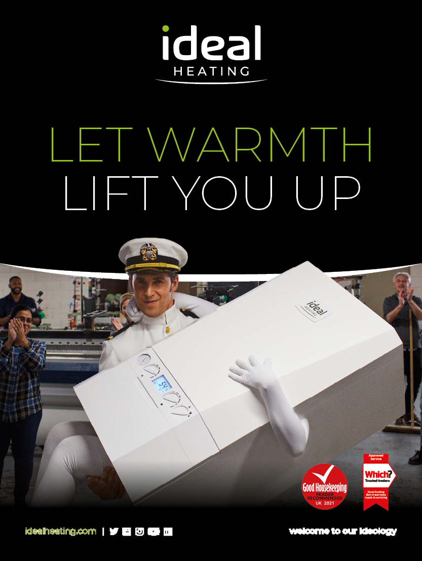 Ideal Heating Consumer Brochure Cover