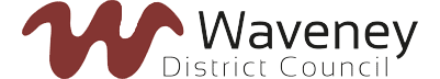 Logo Waveney District Council