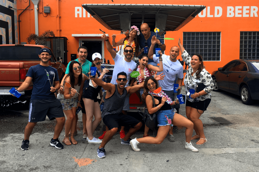 Miami Pub Crawl Cover 1