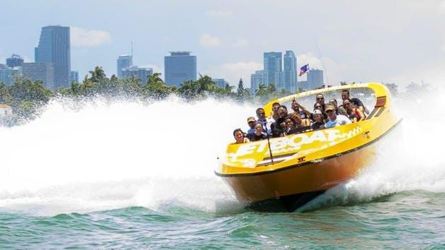 Miami Speed Boat Image